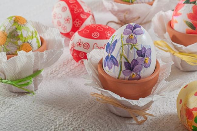 великденски яйца декупаж