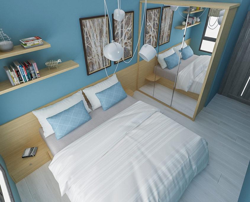Спалня Тристаен апартамент в гр.Варна