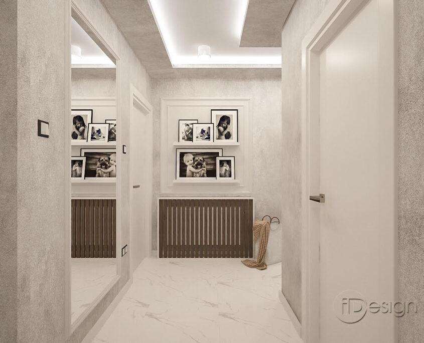 Проект на коридор