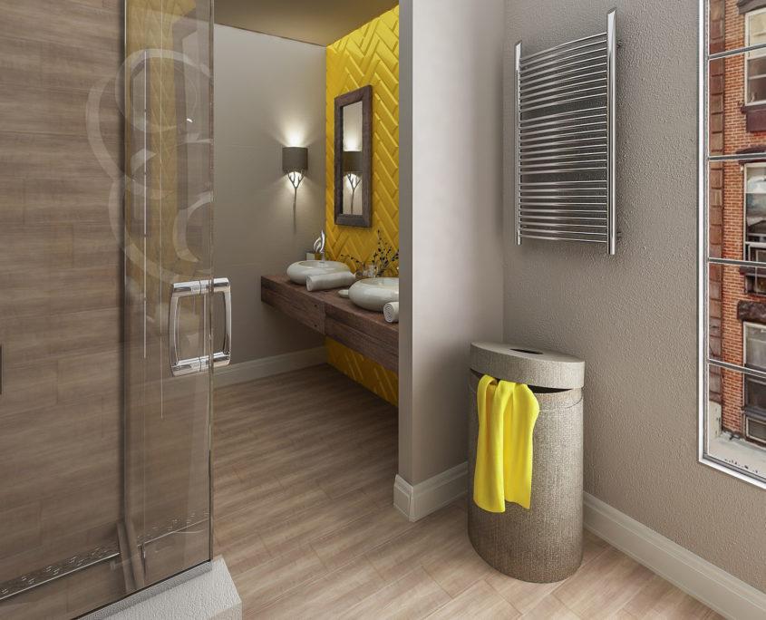 Американски стил в банята