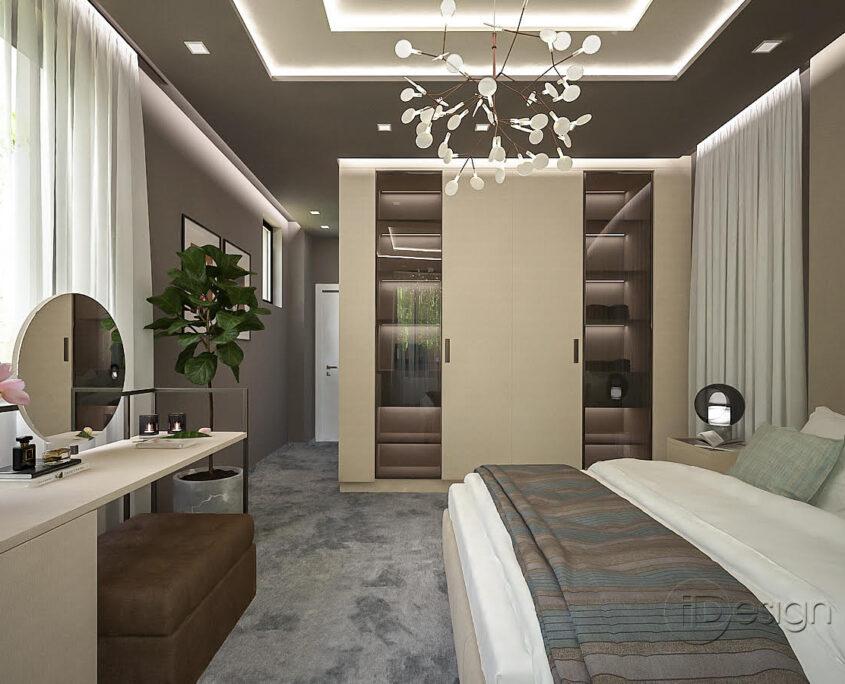 Проект на спалня