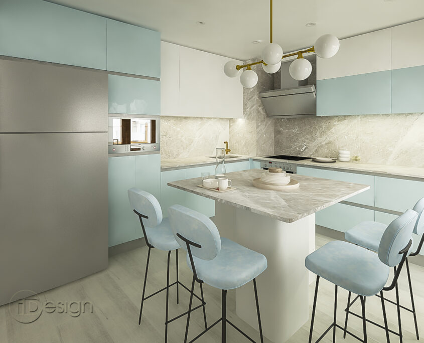 Проект на кухня